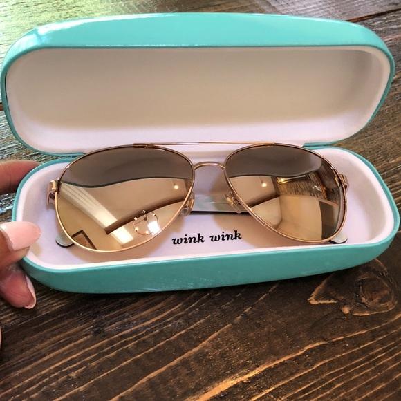37423cc39 kate spade Accessories - kate spade Blossom Aviator Sunglasses Rose Gold